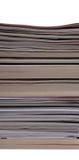 Pilha dos compartimentos e de livros Imagens de Stock Royalty Free