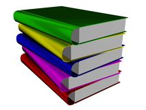 Pilha dos livros. Fotografia de Stock Royalty Free