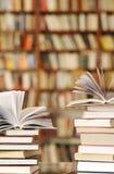 Pilha dos livros Foto de Stock