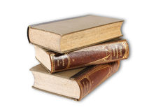 Pilha dos livros velhos Fotos de Stock