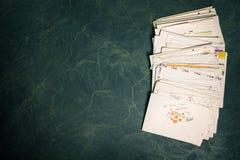 Pilha dos papéis fotografia de stock royalty free