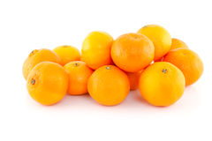 Pilha dos tangerines Fotos de Stock Royalty Free