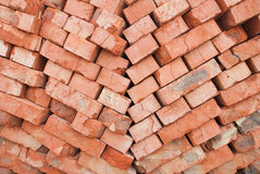 Pilha dos tijolos Fotografia de Stock Royalty Free