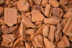 Pilha dos tijolos Foto de Stock