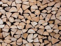 Pilha dos troncos Imagem de Stock