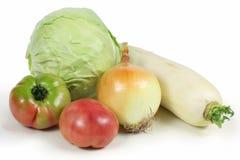 Pilha dos vegetais. fotos de stock royalty free
