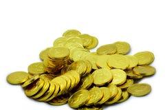 Pilha dourada 2 Fotografia de Stock Royalty Free