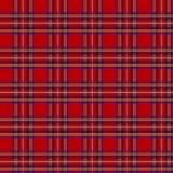 Pilha escocesa, ornamento sem emenda, teste padrão Fotografia de Stock Royalty Free