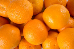 Pilha grande das laranjas Fotografia de Stock Royalty Free