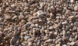 Pilha grande das pedras como um fundo Fotografia de Stock Royalty Free