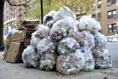 Pilha grande do lixo waste Imagens de Stock