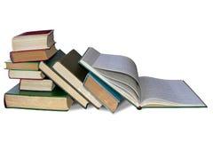 Pilha grande dos livros Imagem de Stock Royalty Free