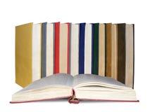 Pilha grande dos livros Fotografia de Stock Royalty Free