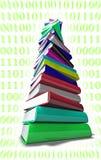 Pilha Informatic dos livros Fotos de Stock