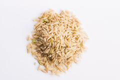 Pilha inteira do arroz Foto de Stock Royalty Free