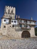 Pilha ortodoxo - fortaleza na costa de mar Foto de Stock Royalty Free