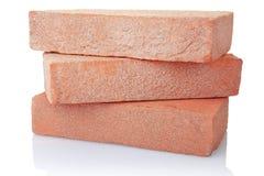 Pilha velha do tijolo vermelho Fotos de Stock