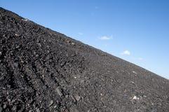 Pilha waste do extracção de carvão Imagens de Stock