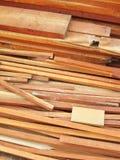 Pilhas da madeira Foto de Stock Royalty Free