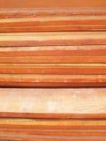 Pilhas da madeira Foto de Stock