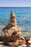 Pilhas da pedra do zen Fotografia de Stock