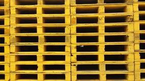 Pilhas das páletes Foto de Stock