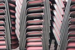 Pilhas de cadeiras em caminhões Imagem de Stock Royalty Free