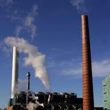 Pilhas de fumo Fotografia de Stock