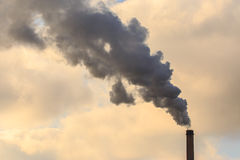 Pilhas de fumo Foto de Stock Royalty Free
