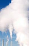 Pilhas de fumo Imagem de Stock