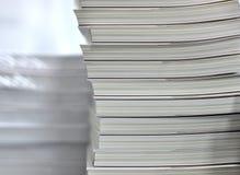 Pilhas de livros Imagem de Stock
