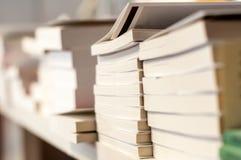 Pilhas de livros Fotografia de Stock Royalty Free