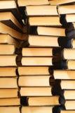 Pilhas de livros velhos Foto de Stock