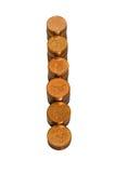 Pilhas de moedas douradas Fotografia de Stock Royalty Free