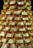 Pilhas de papéis rezando chineses imagem de stock royalty free