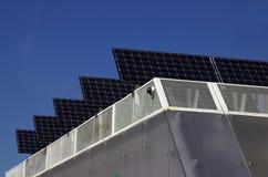 Pilhas Photovoltaic Imagens de Stock