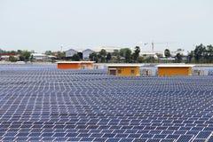 Pilhas solares dos penls Fotografia de Stock