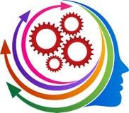 Pilhuvudkugghjul vektor illustrationer