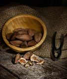 Pili nuts from the Philippines Royalty Free Stock Photos