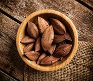 Pili nuts from the Philippines Stock Images