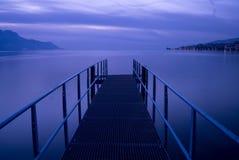 Pilier à Montreux Photo libre de droits