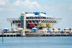 Pilier à St Petersburg la Floride Images libres de droits