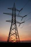 pilier électrique photographie stock libre de droits