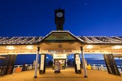Pilier Angleterre de Brighton Photos libres de droits