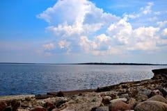 Pilier baltique Photographie stock