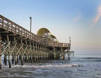 Pilier d'Apache, Myrtle Beach, la Caroline du Sud photo stock