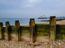 Pilier d'Eastbourne photographie stock libre de droits
