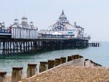 Pilier d'Eastbourne images libres de droits