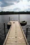 Pilier de bateau Image stock