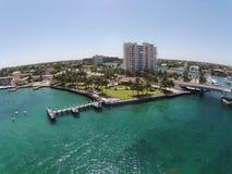 Pilier de bord de mer en Floride du sud Image stock
